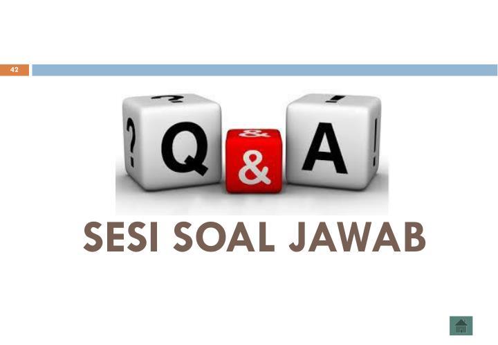 SESI SOAL JAWAB