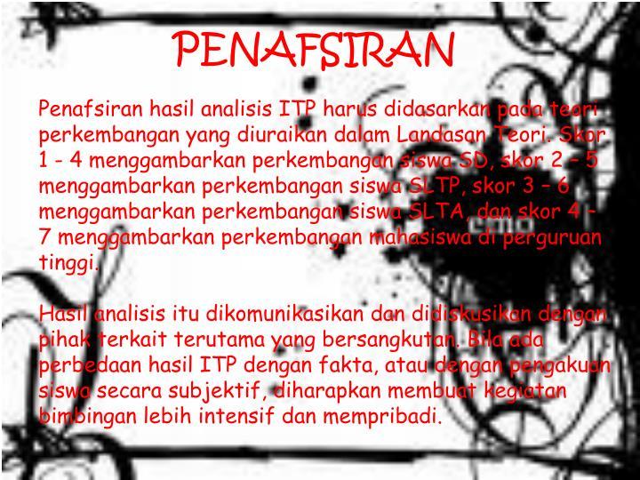 PENAFSIRAN