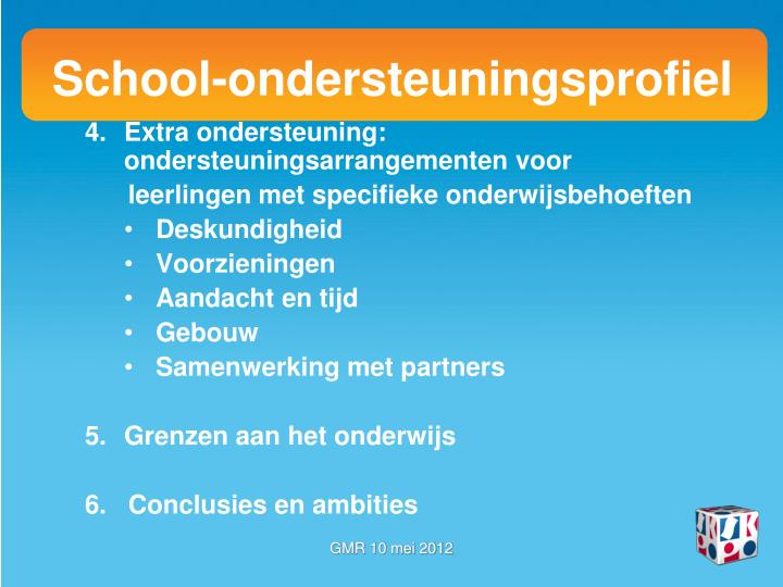 School-ondersteuningsprofiel