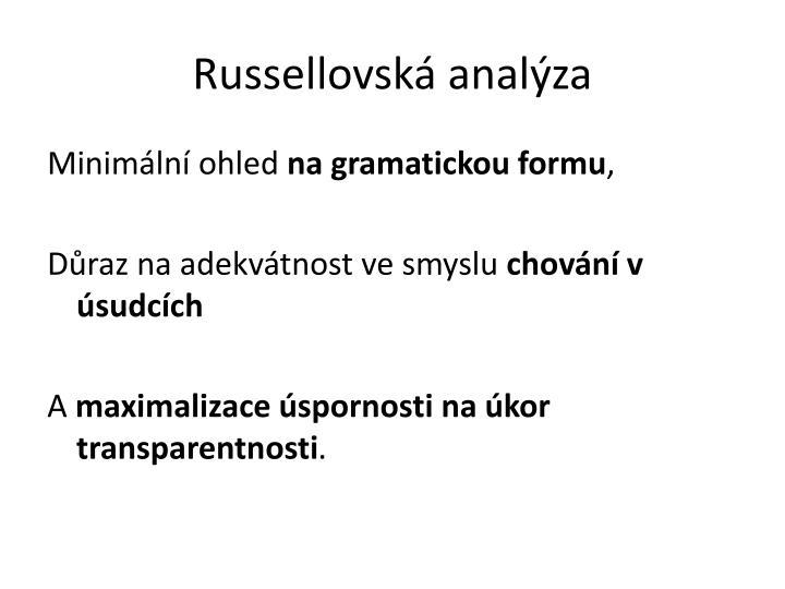 Russellovská