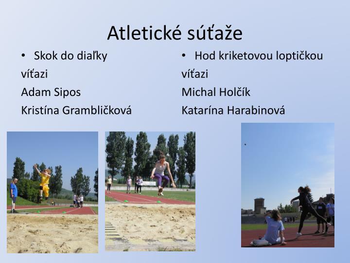 Atletické súťaže