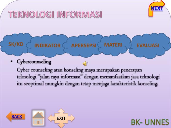 Cybercounseling