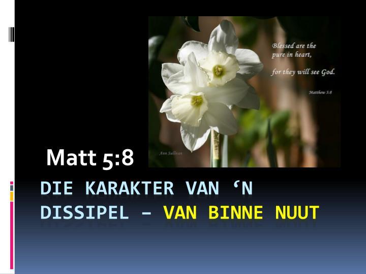 Matt 5:8