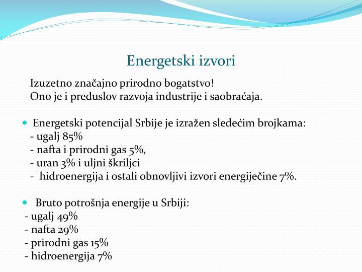 Energetski izvori