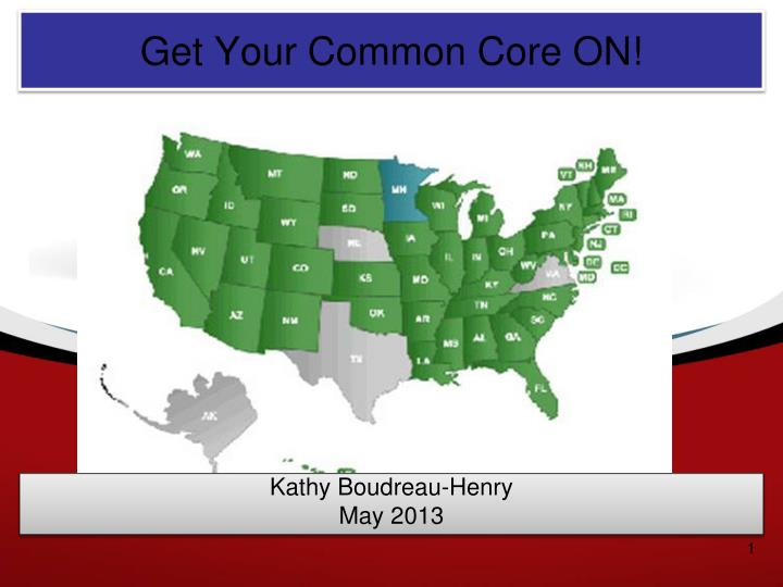 Get Your Common Core ON!