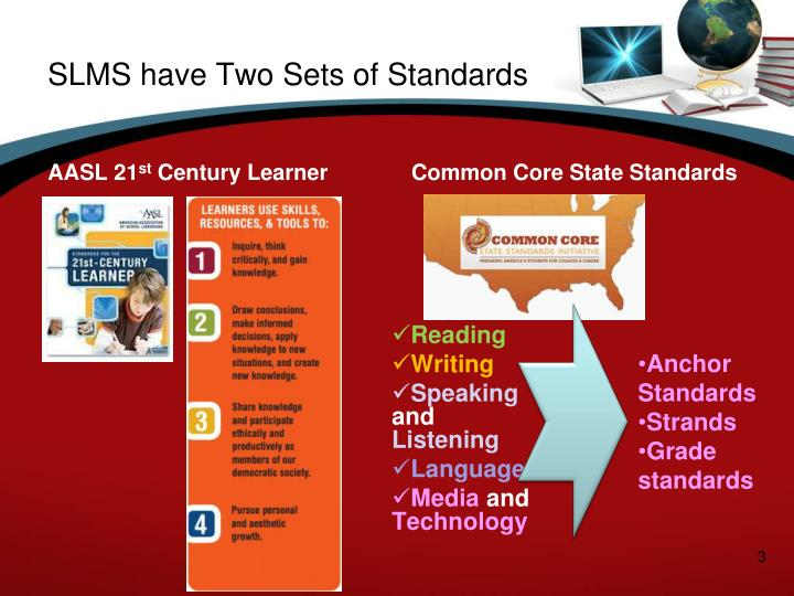 SLMS have Two Sets of Standards