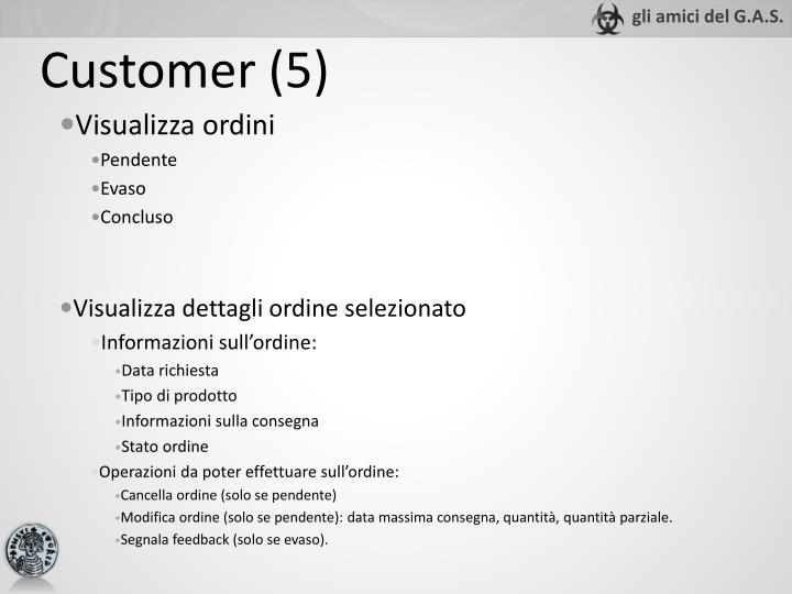 Customer (5)
