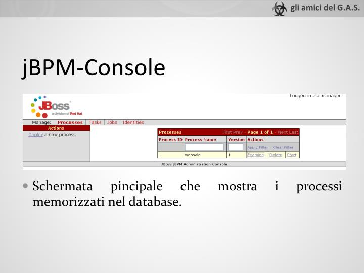 jBPM-Console