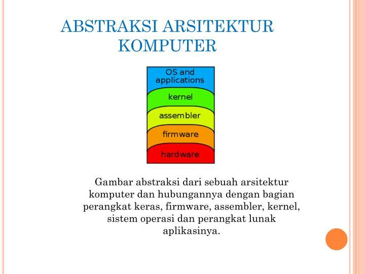 ABSTRAKSI ARSITEKTUR KOMPUTER