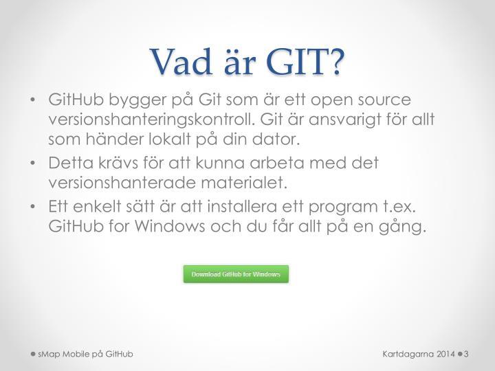 Vad är GIT?