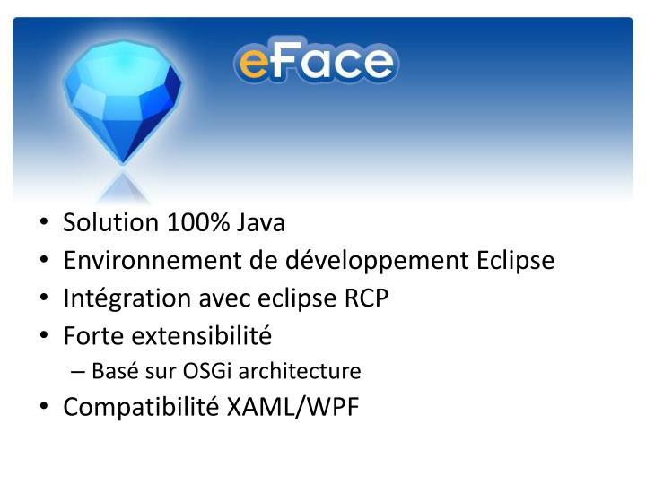 Solution 100% Java
