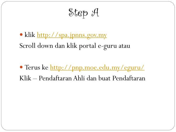 Step A