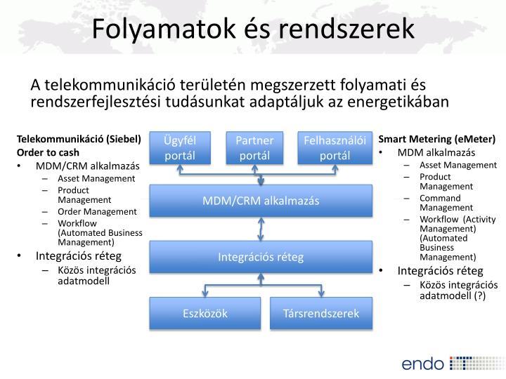 Folyamatok és rendszerek