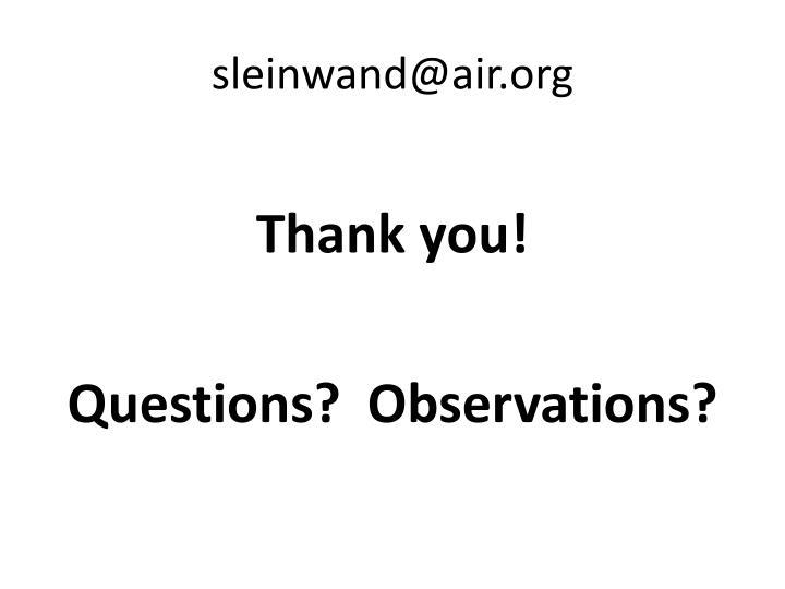 sleinwand@air.org