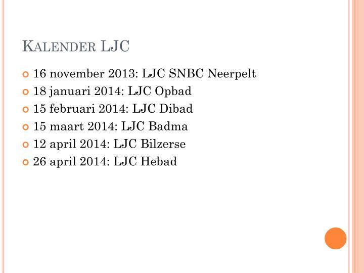 Kalender LJC
