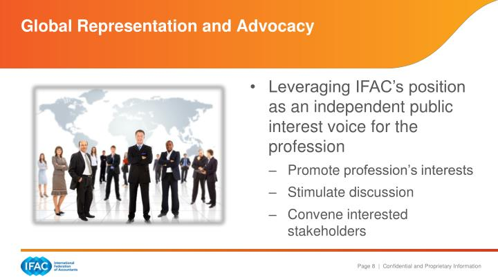 Global Representation and Advocacy