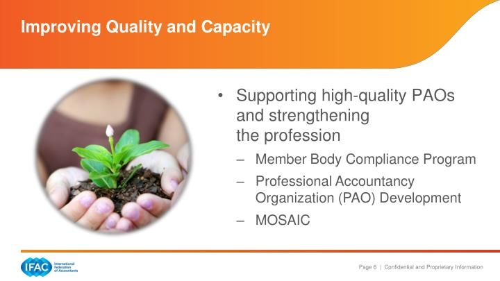 Improving Quality and Capacity