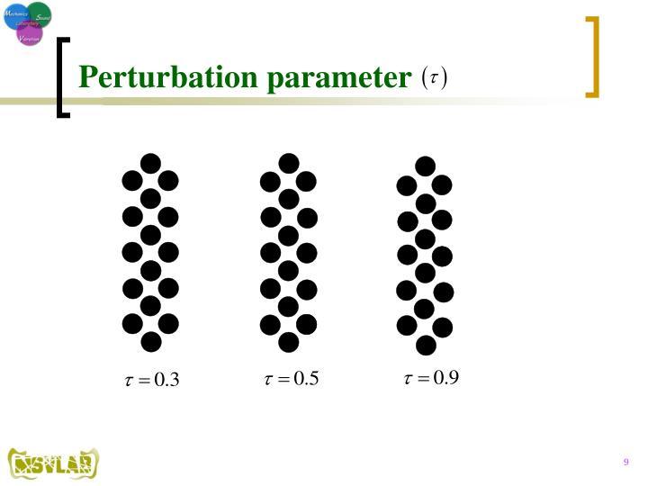 Perturbation parameter