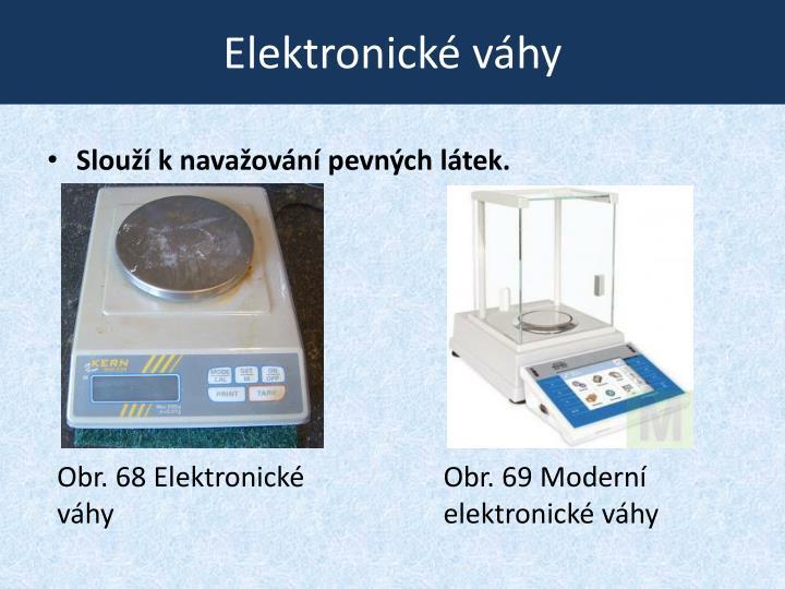 Elektronické váhy