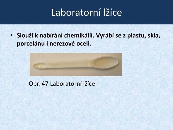 Laboratorní lžíce