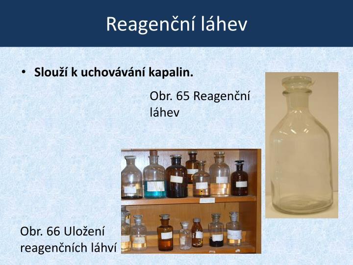 Reagenční láhev