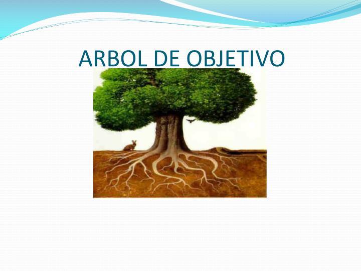 ARBOL DE OBJETIVO