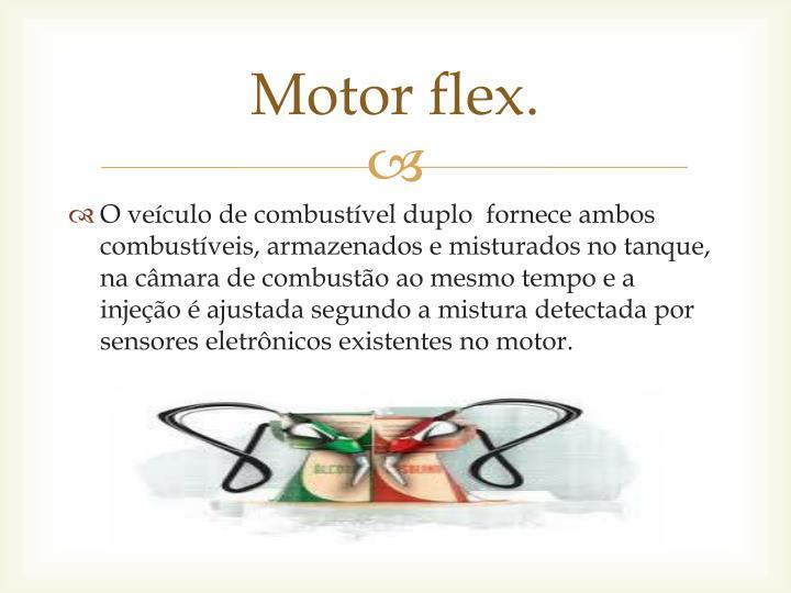 Motor flex.