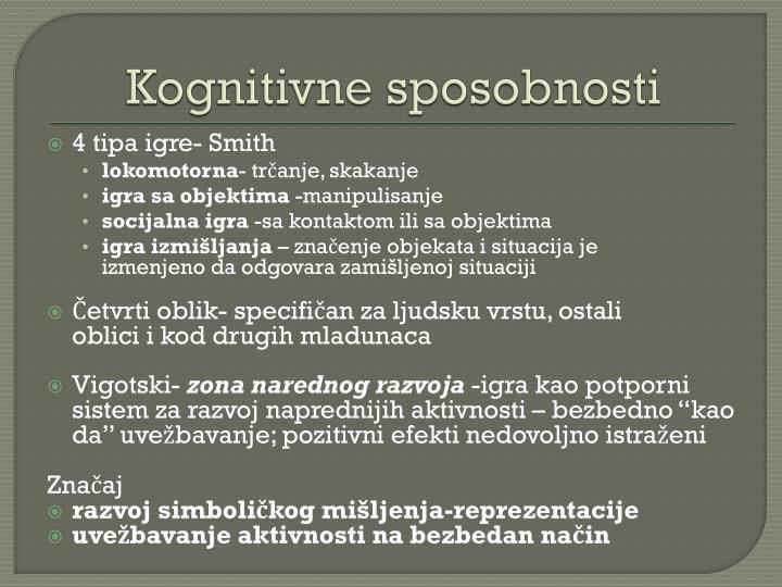 Kognitivne sposobnosti