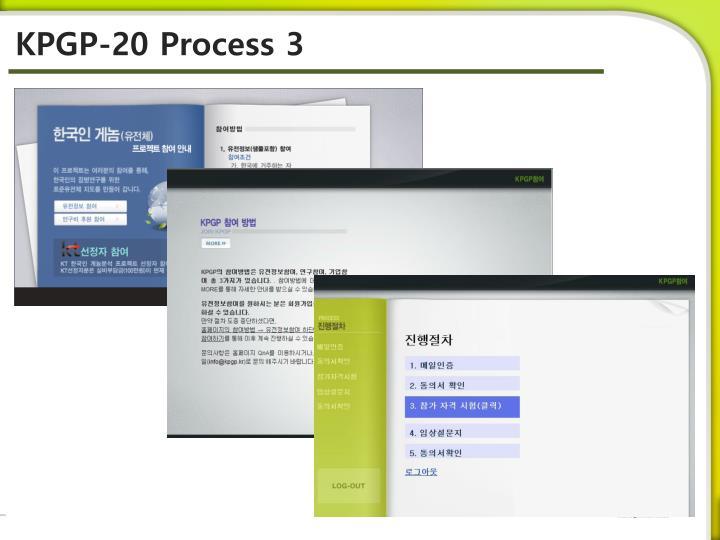 KPGP-20 Process 3