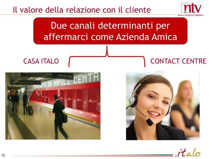 Il valore della relazione con il cliente