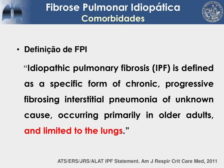 Definição de FPI