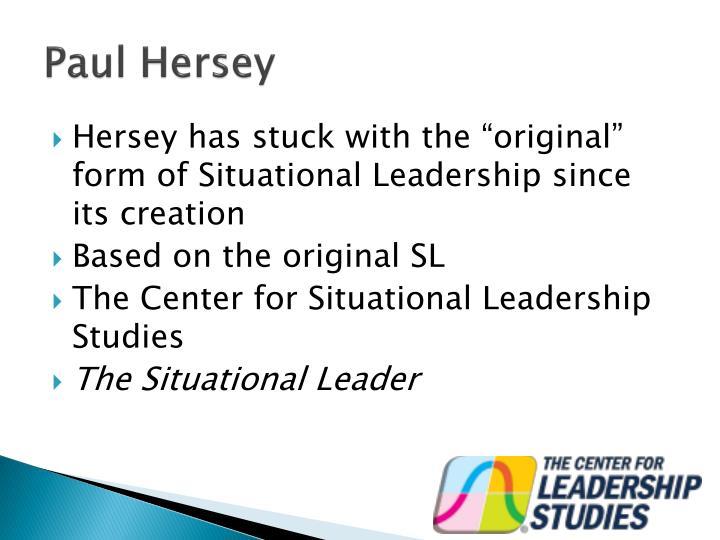 Paul Hersey