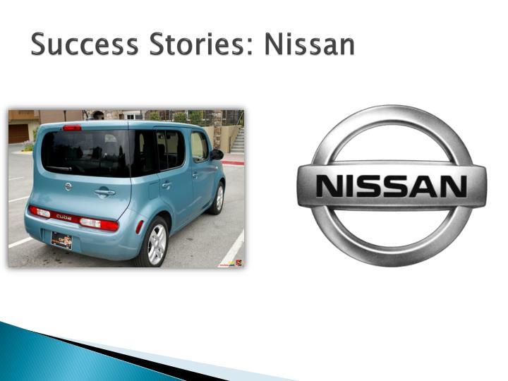 Success Stories: Nissan