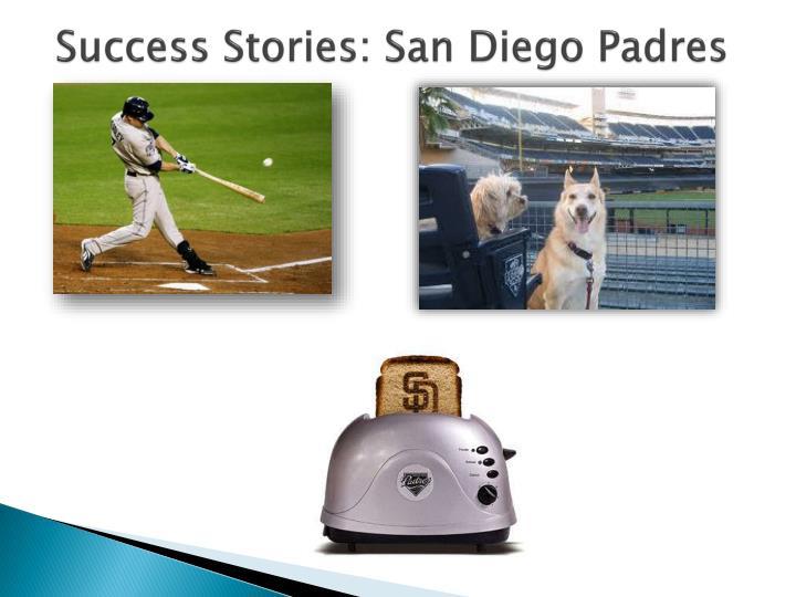 Success Stories: San Diego Padres