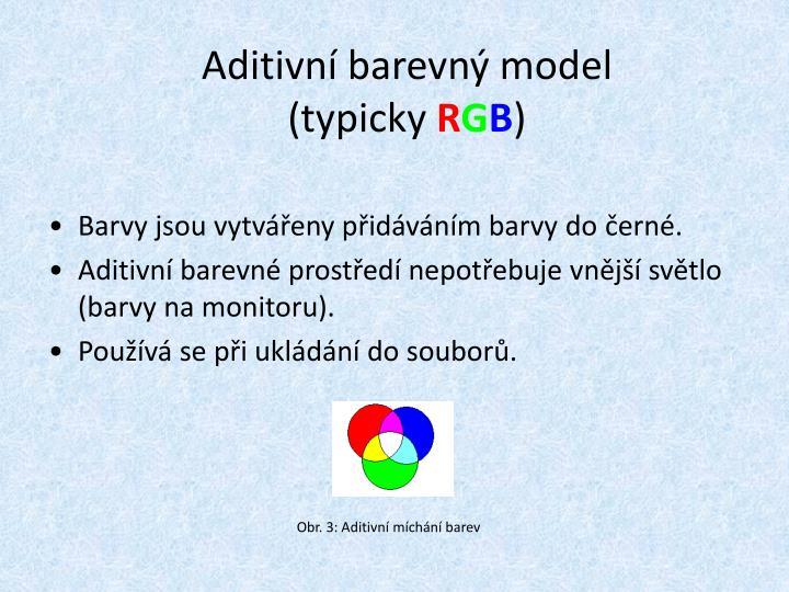 Aditivní barevný model