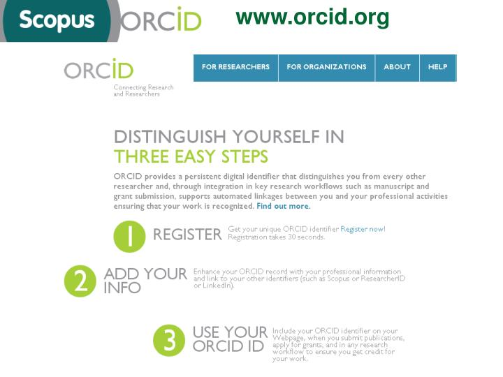 www.orcid.org