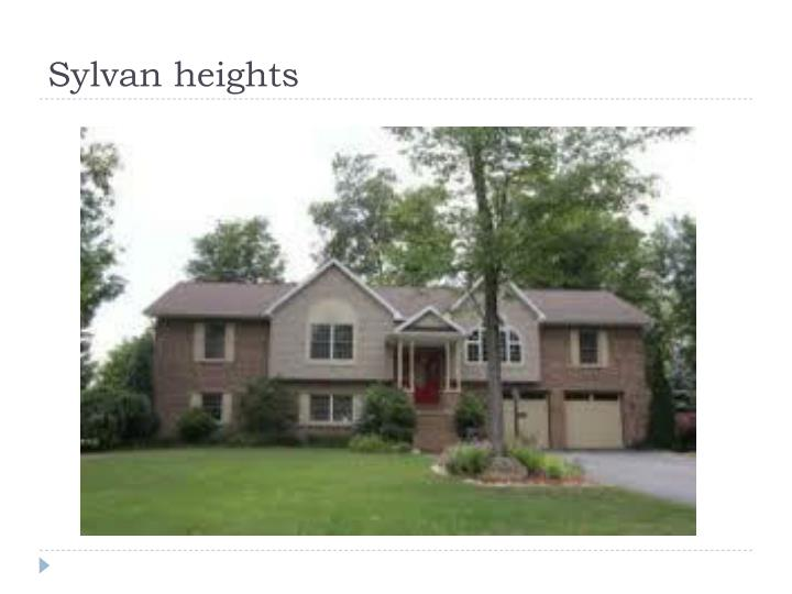 Sylvan heights
