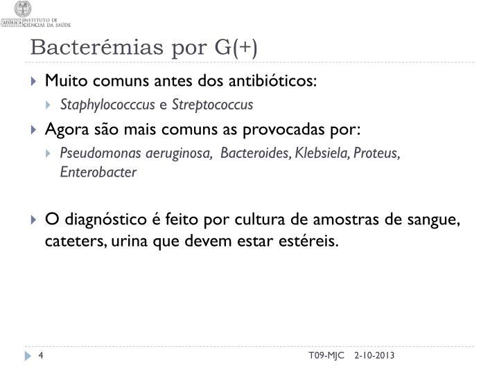 Bacterémias