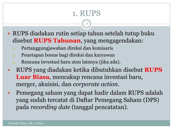 1. RUPS