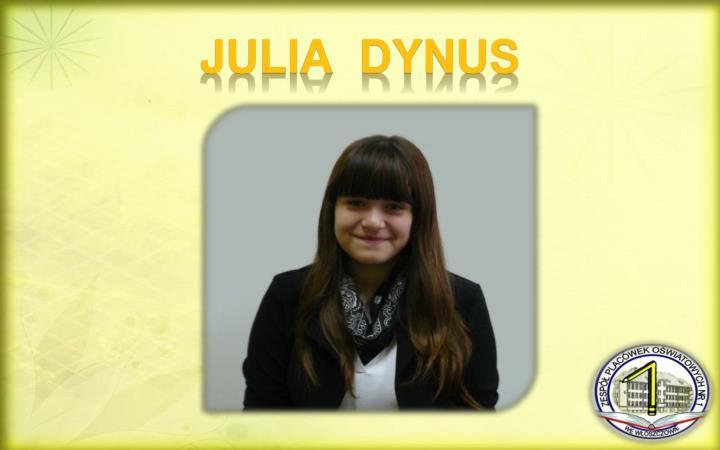 JULIA  DYNUS