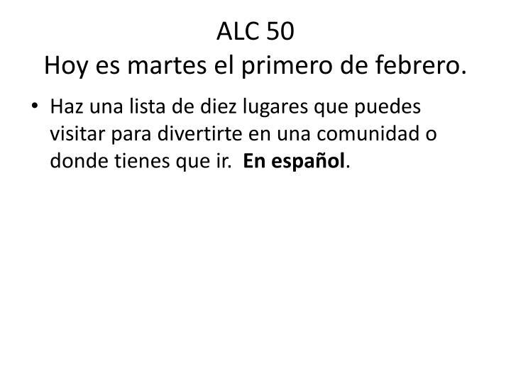 ALC 50