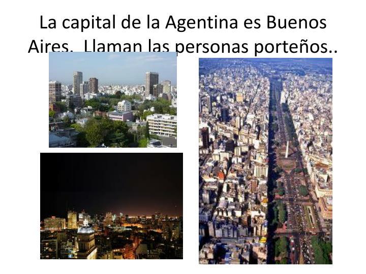 La capital de la