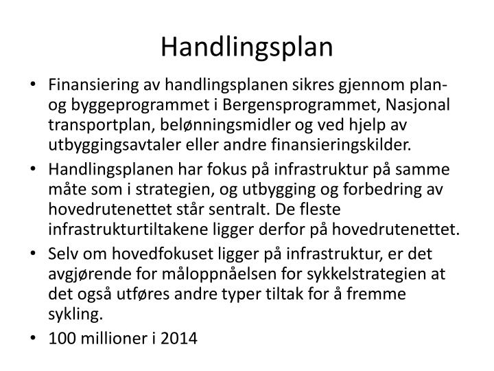 Handlingsplan