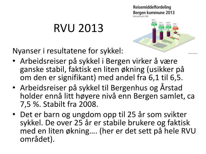 RVU 2013