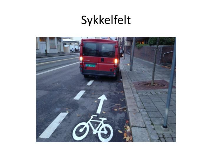 Sykkelfelt
