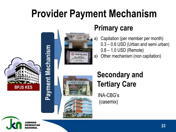 Provider Payment Mechanism