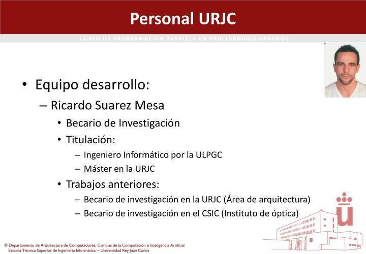 Personal URJC