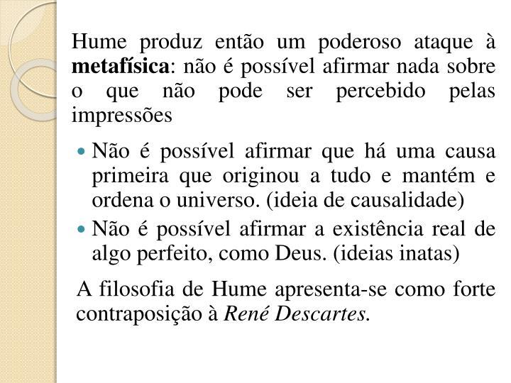 Hume produz