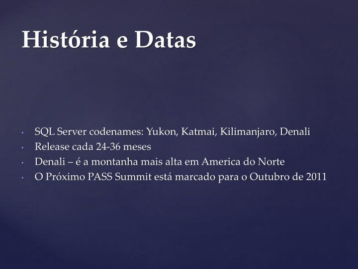 SQL Server codenames: Yukon
