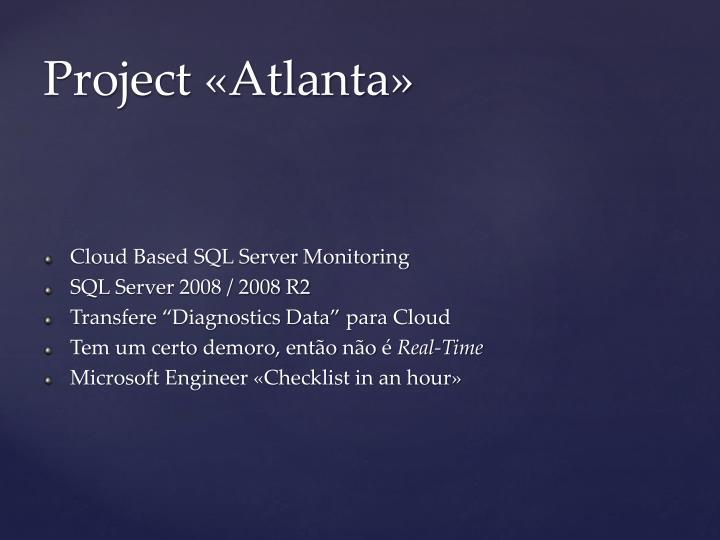 Cloud Based SQL Server Monitoring